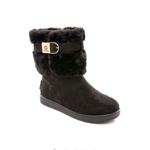 GUESS Cold Weather Fur Bootie